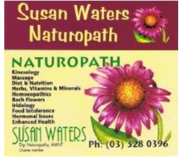 Profile picture for Susan Waters Naturopath