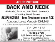 Click for more details about Woo Lee Oriental Medicine Centre Ltd